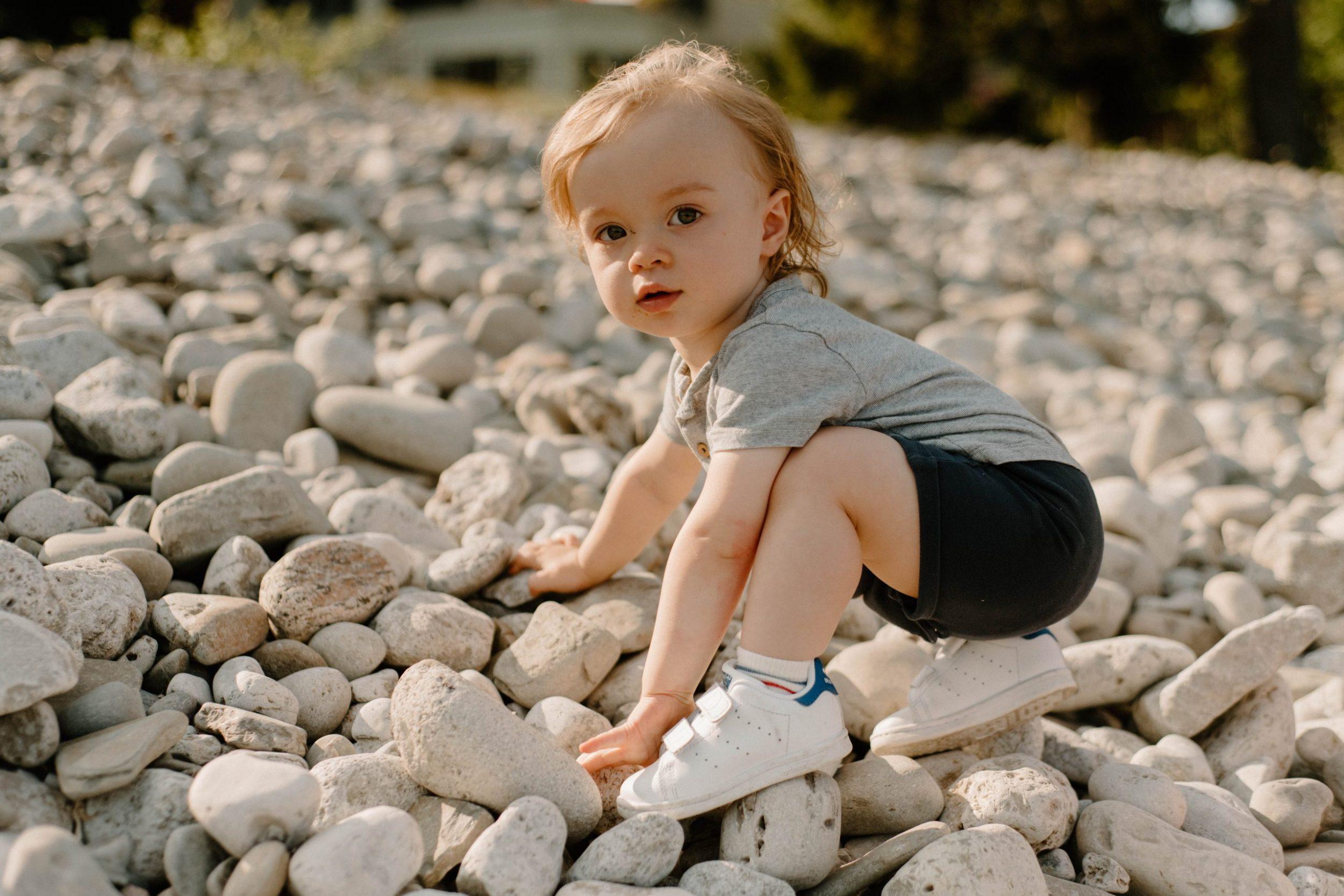 Toddler Boy Climbing Family | Sam Gaetz Photography